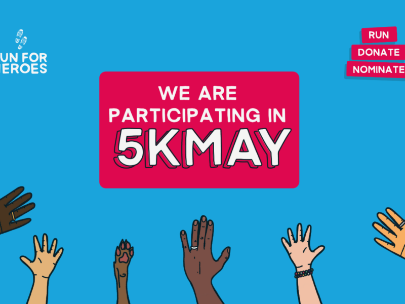 We are participating in 5kMay