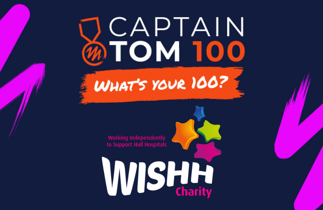 CaptainTom100 What's your 100? WISHH Charity
