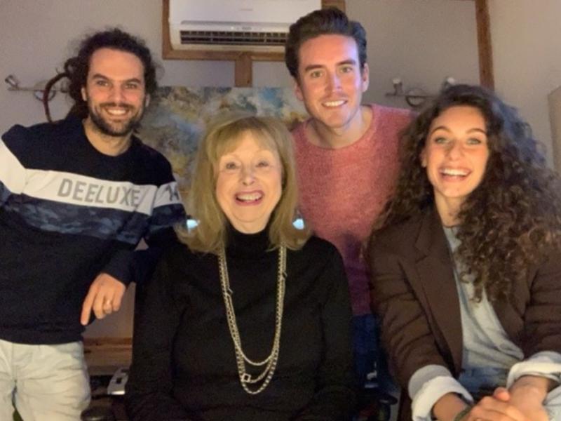 Frankie Carvalho, Amy di Bartolomeo, Christopher David Mitchell and Oliver Delbos