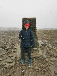 Isaac takes on the three peaks challenge