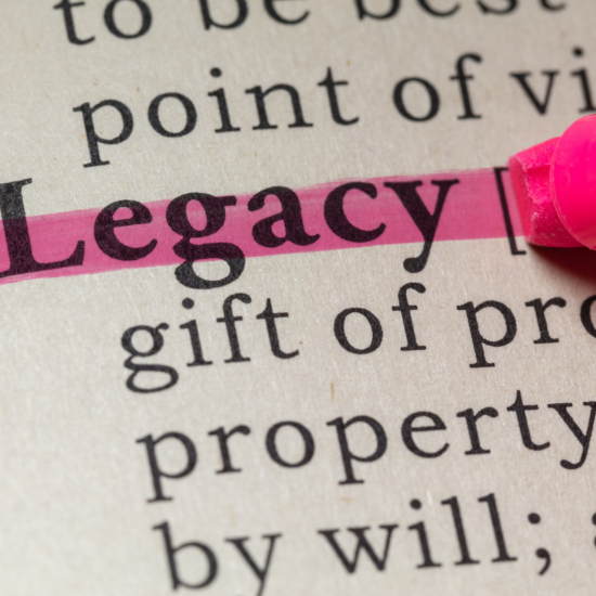 Legacy highlighed in a dictionary