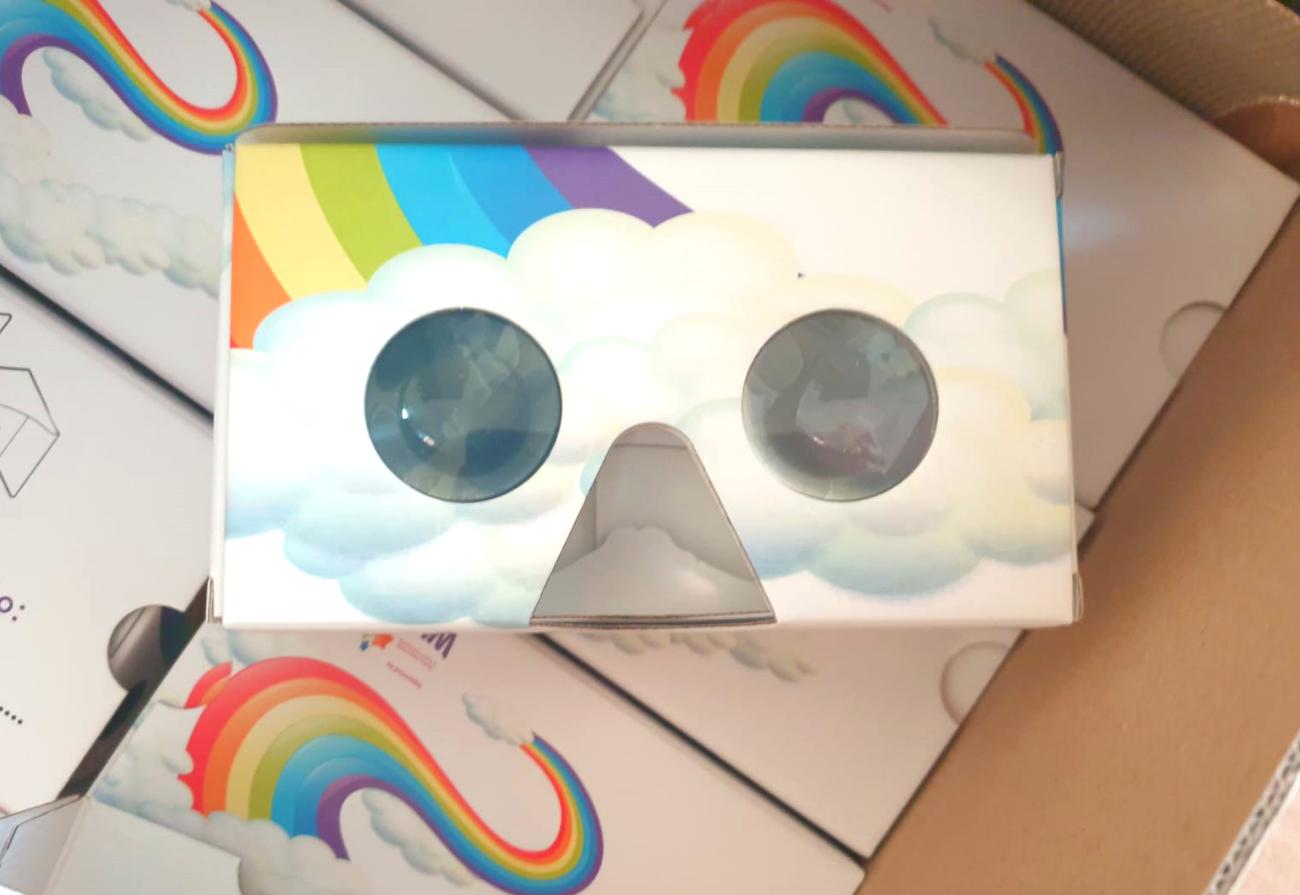 A VR headset for children