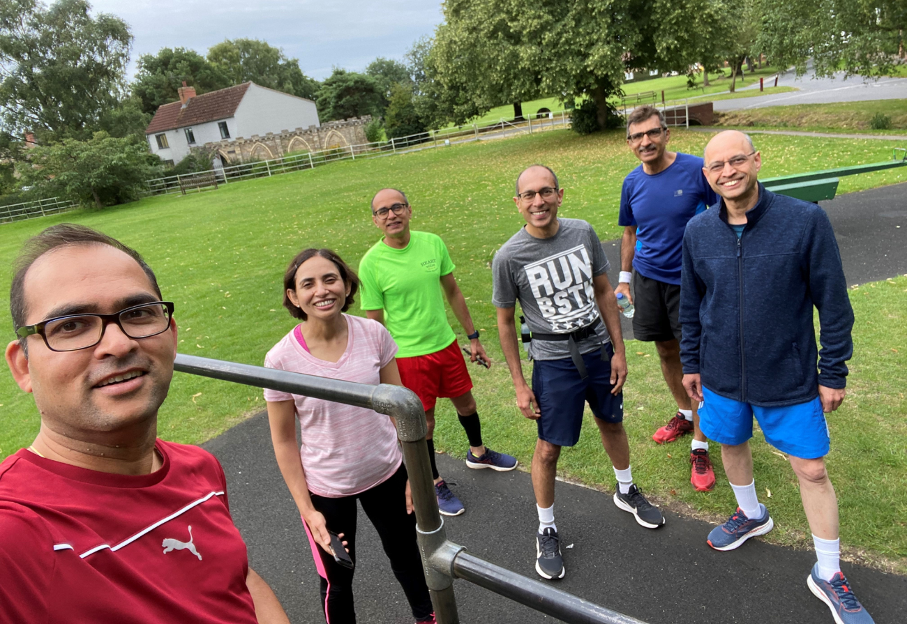 Six doctors who will be taking on the Virtual London Marathon